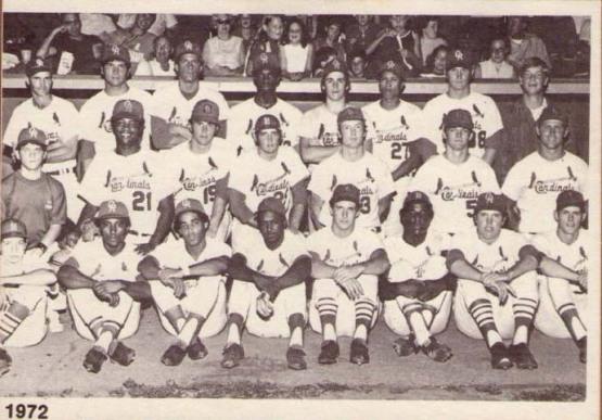 1972 Cedar Rapids Cardinals